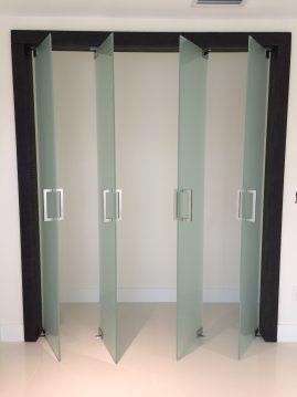 closet glass doors